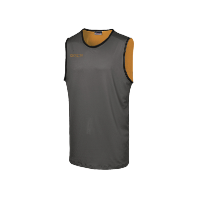 PONZA TANK - SMOKE GREY / ORANGE