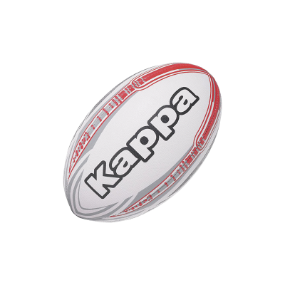 KAPPA4RUGBY MARCO - WHITE/ RED / GREY