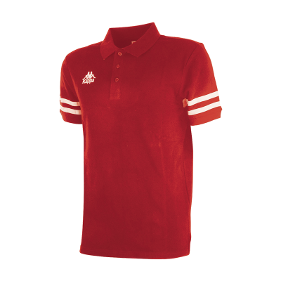 PALAZZI AUTH POLO - RED