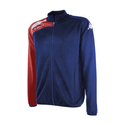 TALUCCI JKT - BLUE MARINE/RED