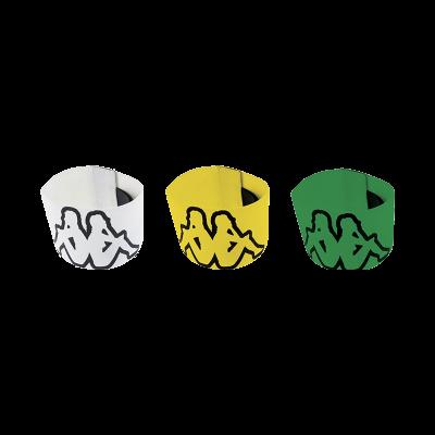 AMALIO CAPTAIN TAPE X3 - GREEN/YELLOW/WHITE