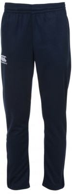 STRETCH TAPERED POLY KNIT PANT - KID - NAVY
