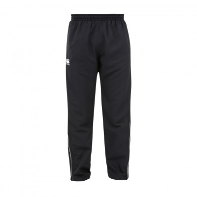 TEAM TRACK PANTS JR - BLACK/WHITE