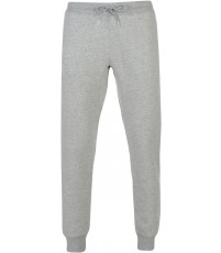 TAPERED CUFFED FLEECE PANT - CLASSIC MARL