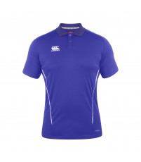 TEAM DRY POLO - ROYAL/WHITE