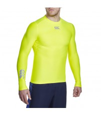 THERMOREG FLURO L/S TOP - SAFETY YELLOW