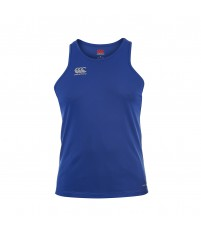 CORE VAPODRI POLY SMALL LOGO SINGLET - CCC ROYAL