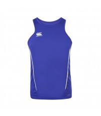 TEAM DRY SINGLET - ROYAL/WHITE