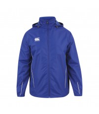 TEAM FULL ZIP RAIN JKT - ROYAL/WHITE