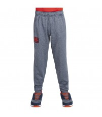 TAPERED CUFF FLEECE PANT BOY - SKY CAPTAIN MARL
