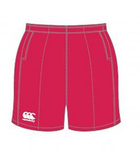 PROFESSIONAL COTTON SHORT JR - FLAG RED