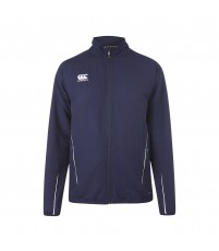TEAM TRACK JKT JR - NAVY/WHITE