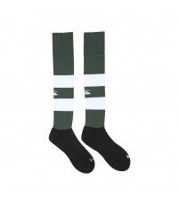TEAM HOOPED SOCKS - FOREST