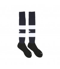 TEAM HOOPED SOCKS - NAVY