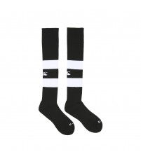 TEAM HOOPED SOCKS - BLACK