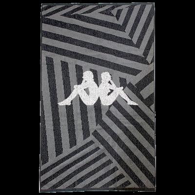 PIETRO TOWEL - BLACK/WHITE